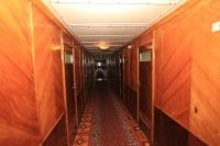 Коридор на средней палубе Теплоход «Святая Русь»