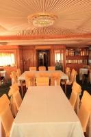 Ресторан на шлюпочной палубе Теплоход «Святая Русь»